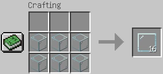 Jak zrobić szybę w Minecraft?