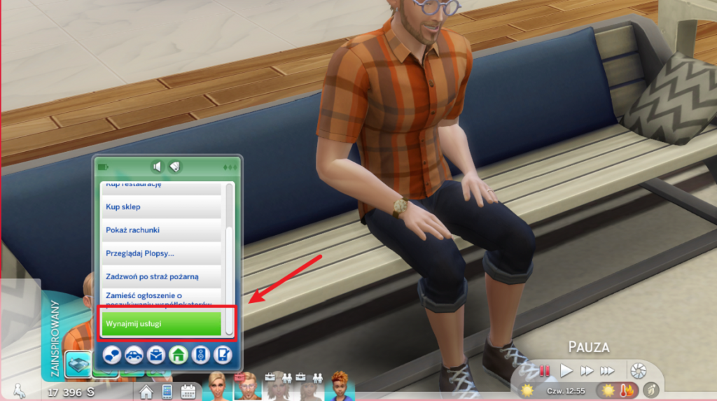 Adopcja dziecka przez telefon w The Sims 4