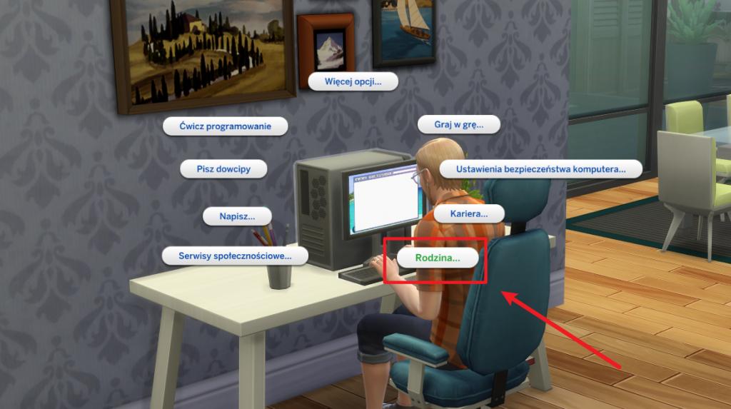 Adopcja dziecka w The Sims 4