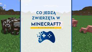 Co jedzą zwierzęta w Minecraft?
