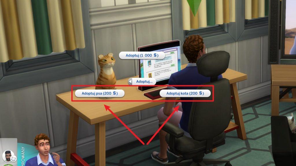 Jak adoptować psa w The Sims 4
