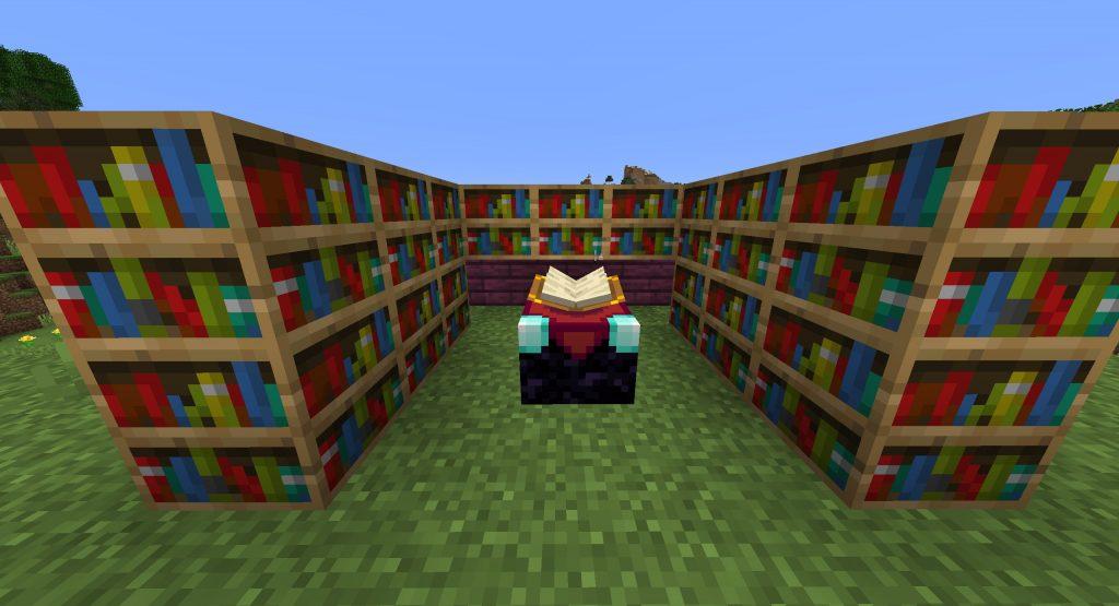 Jak ułożyć biblioteczkę w Minecrafcie?