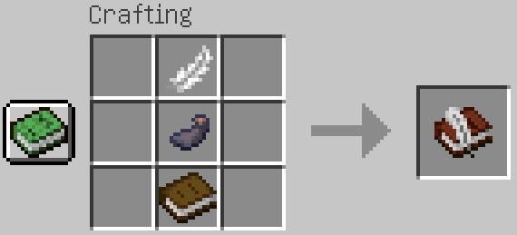 Jak zrobić książkę z piórem Minecraft?