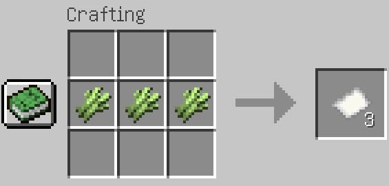 Jak zrobić papier w Minecraft?