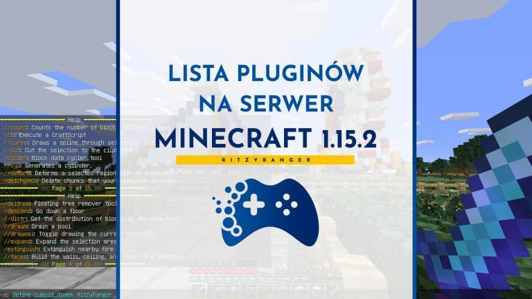 Lista pluginów na serwer Minecraft 1.15.2