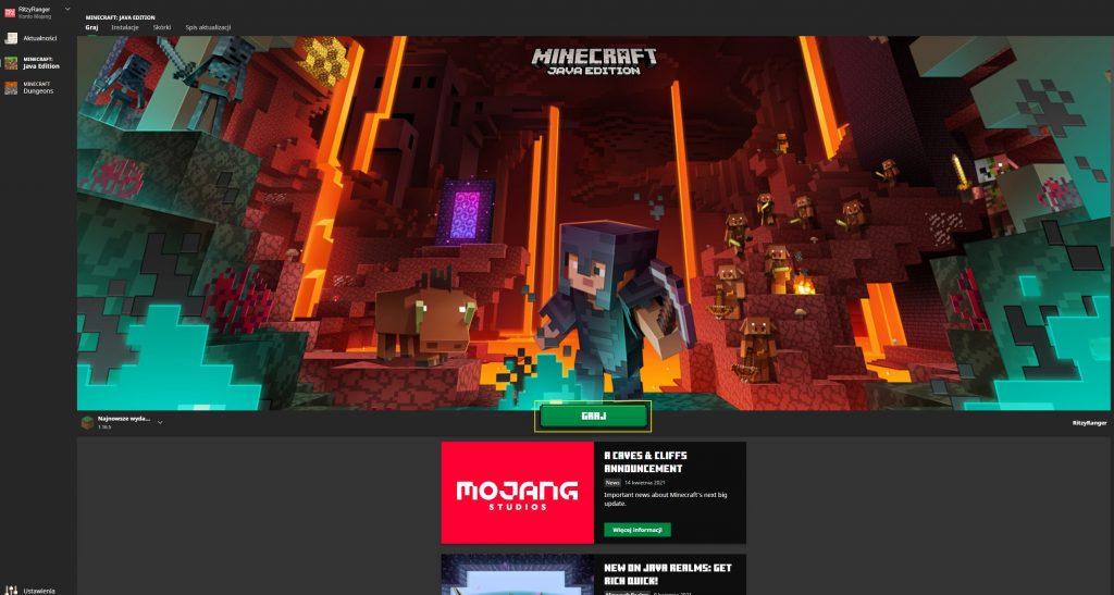 Jak pobrać Minecrafta - gotowy do uruchomienia