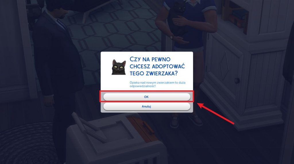 Psy ze schroniska w The Sims 4