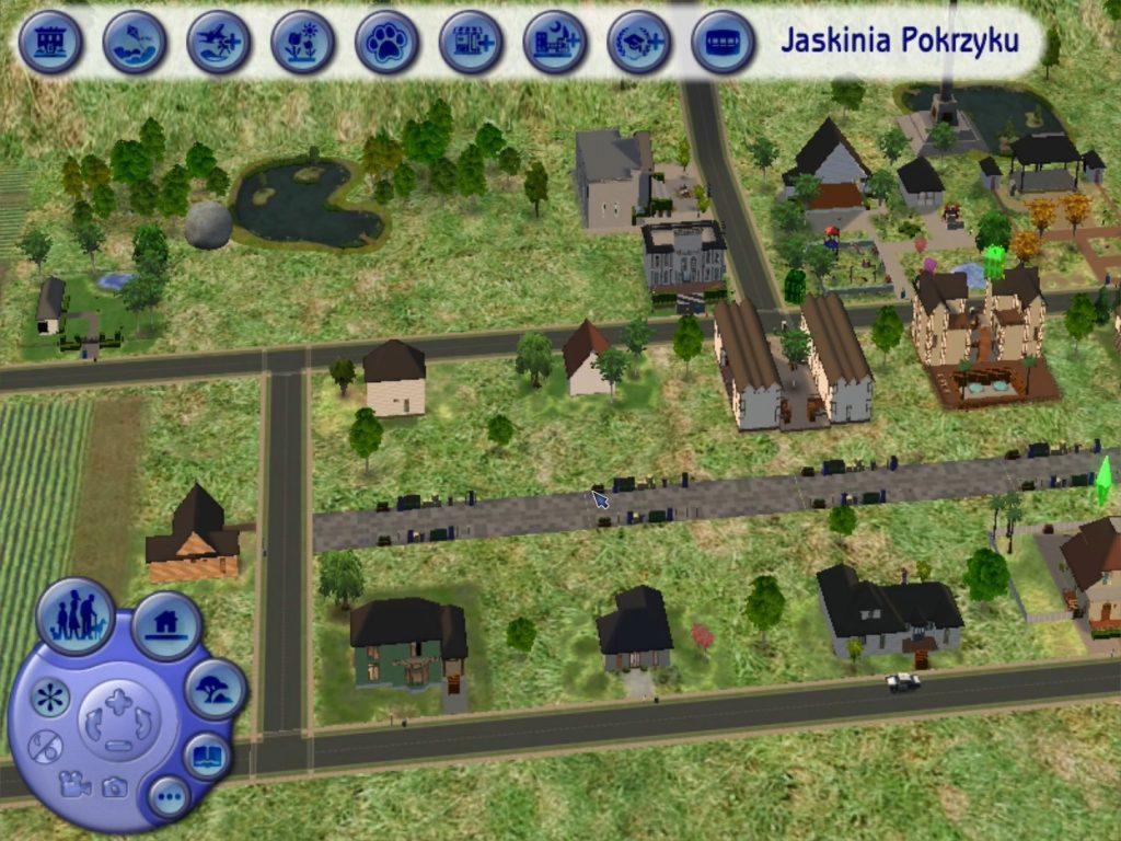 The Sims 2 rozdzielczość 800x600