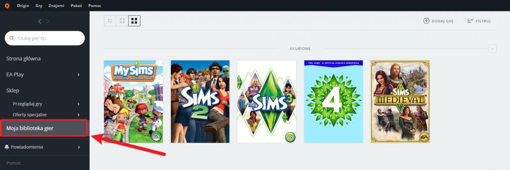 The Sims 4 zmiana języka