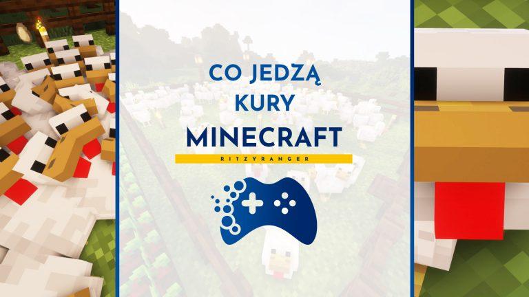 Co jedzą kury Minecraft