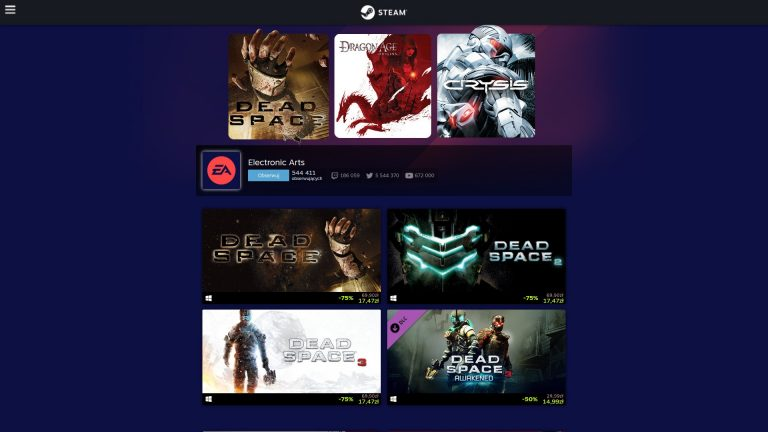 EA Sagas Sale 2021 - promocje na gry
