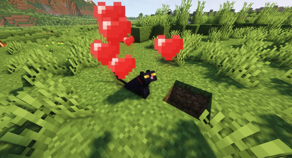 Oswojony kot Minecraft