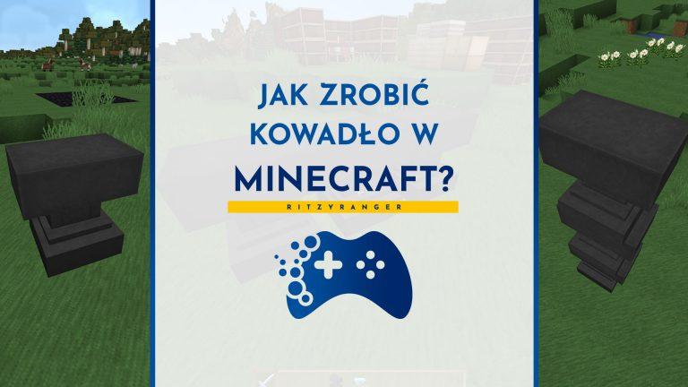 Jak zrobić kowadło w Minecraft?