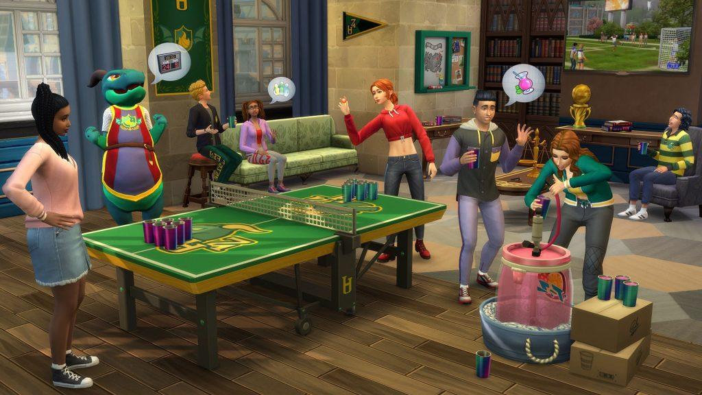 Kody The Sims 4 Uniwersytet