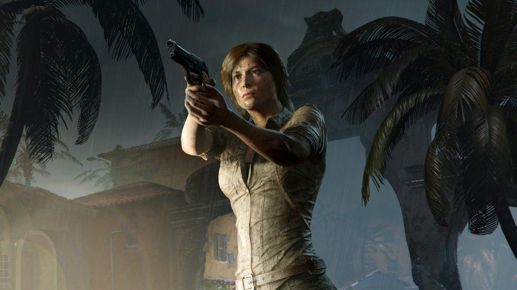 Lara Croft z Shadow of the Tomb Raider