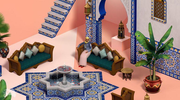 Lista obiektów The Sims 4 oaza na patio i oficjalna zapowiedź