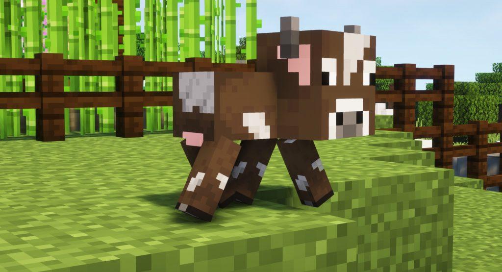 Mała krowa Minecraft