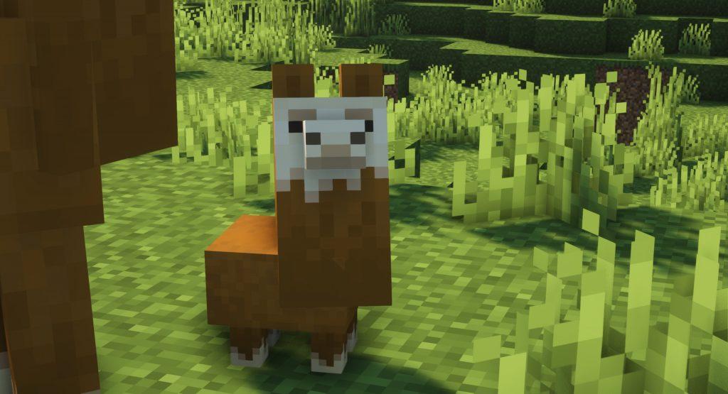Mała lama Minecraft