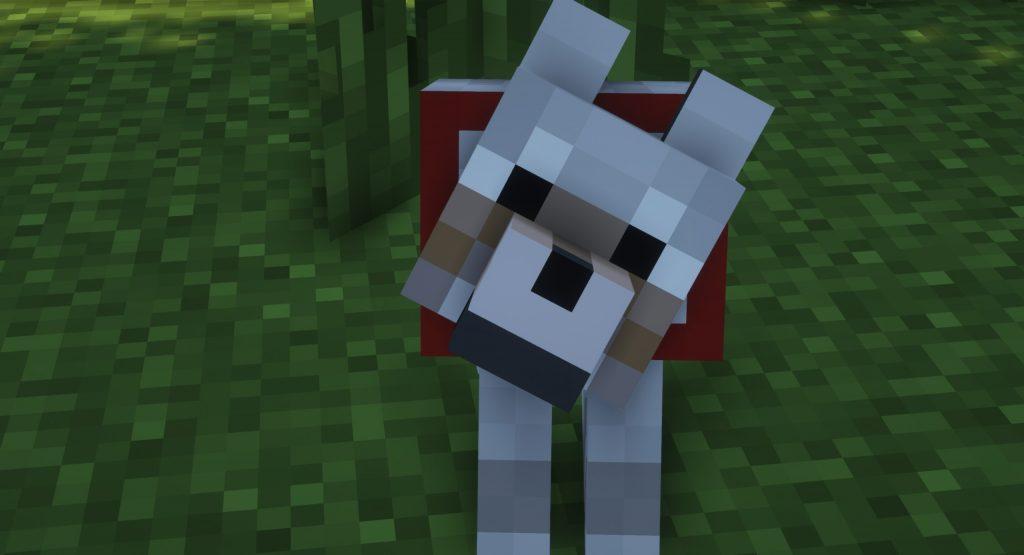 Oswojony wilk Minecraft