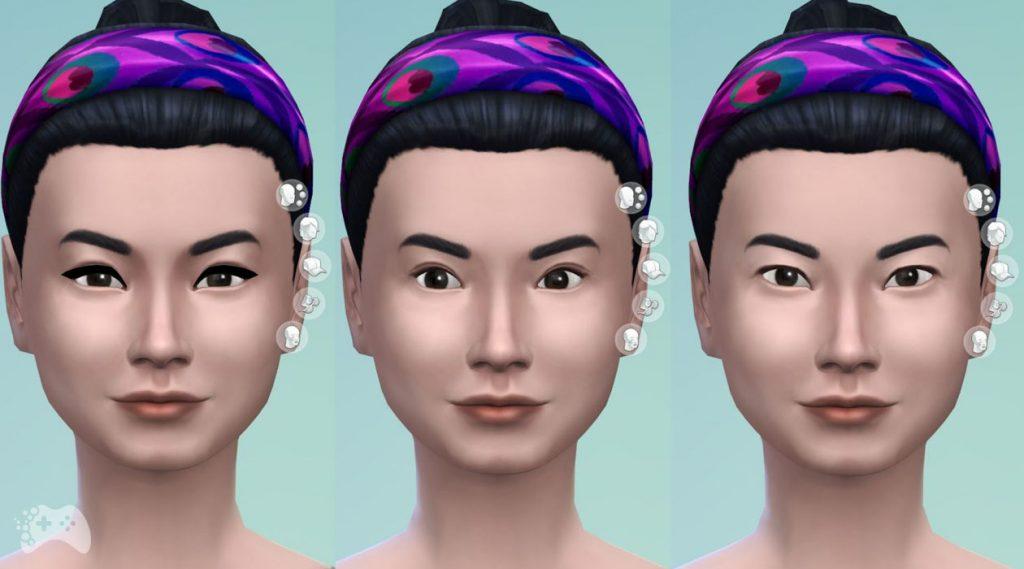 The Sims 4 aktualizacja maj 2021 azjatyckie schematy oczu