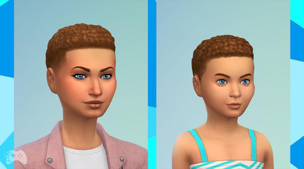 The Sims 4 aktualizacja maj 2021 krótkie afro nowe włosy