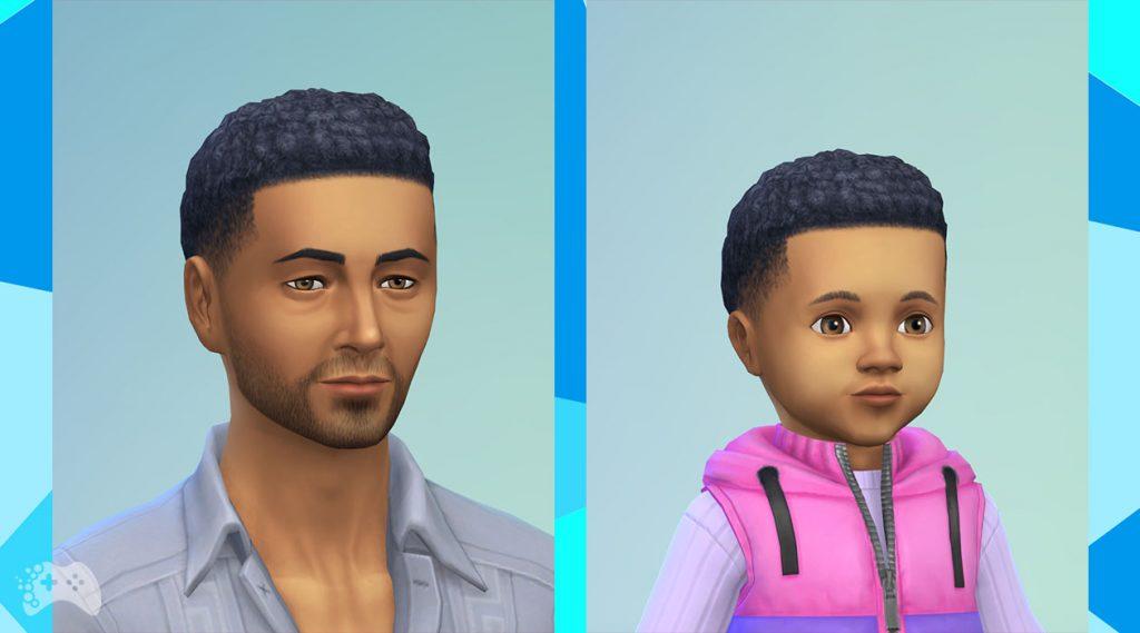 The Sims 4 aktualizacja maj 2021 nowa fryzura krótkie afro