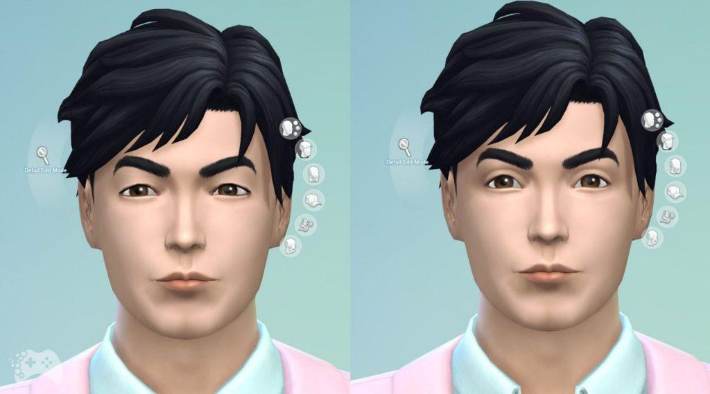 The Sims 4 aktualizacja maj 2021 schematy oczu