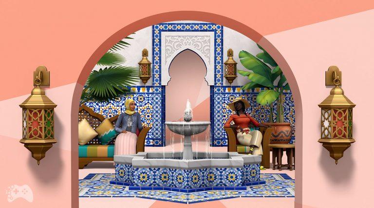The Sims 4 oaza na patio kolekcja