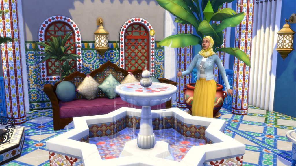 The Sims 4 oaza na patio recenzja