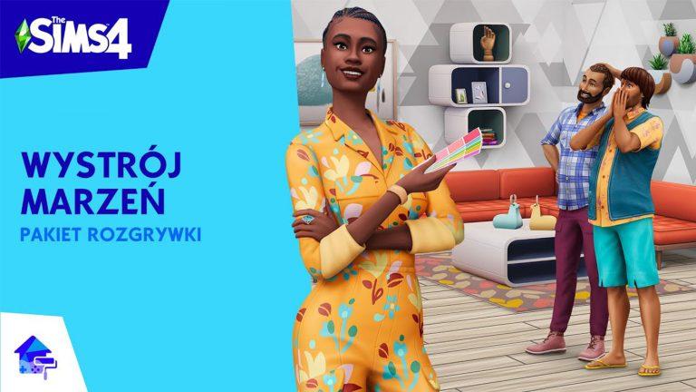 The Sims 4 Wystrój marzeń - oficjalna zapowiedź i zwiastun