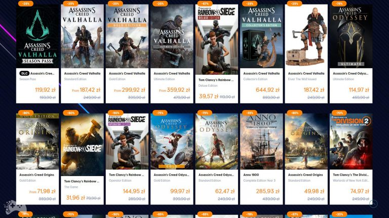 Ubisoft Legendary Sale 2021