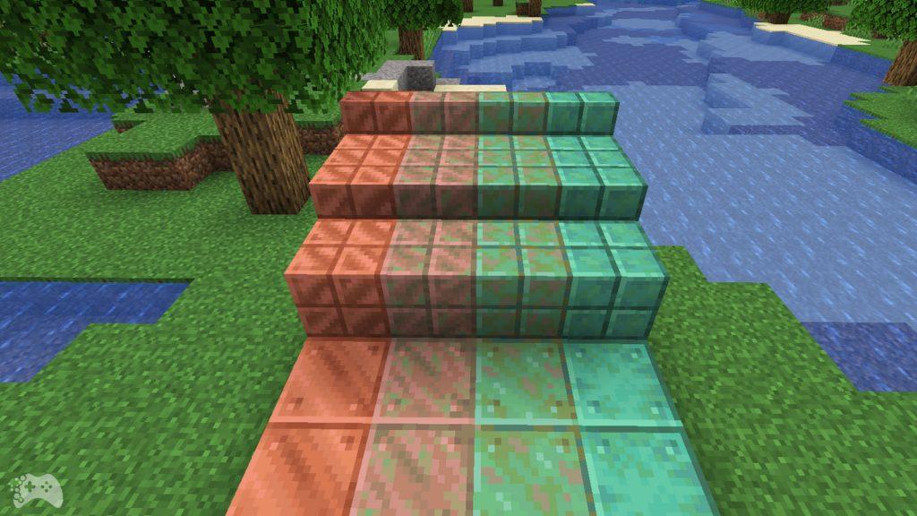 Ruda miedzi - Minecraft 1.17