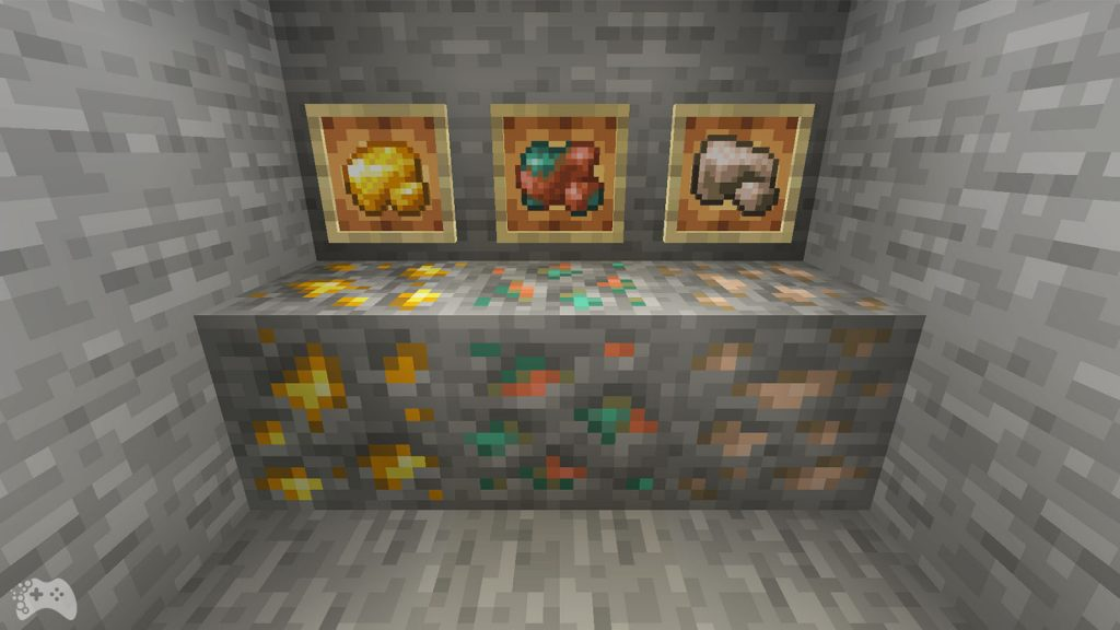 Przegląd Minecraft 1.17 - surowe rudy