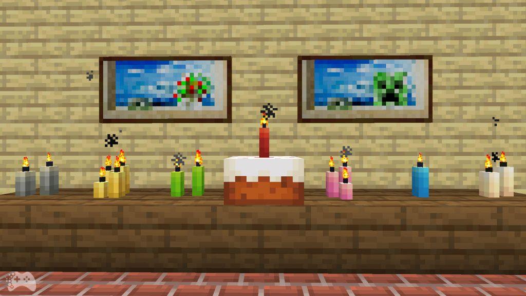 Świeczki Minecraft 1.17