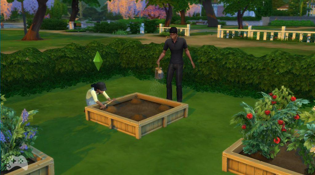 Ogrodnictwo dla dzieci the sims 4 aktualizacja czerwiec 2021