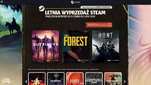 Steam Summer Sale 2021 - lista gier w promocji