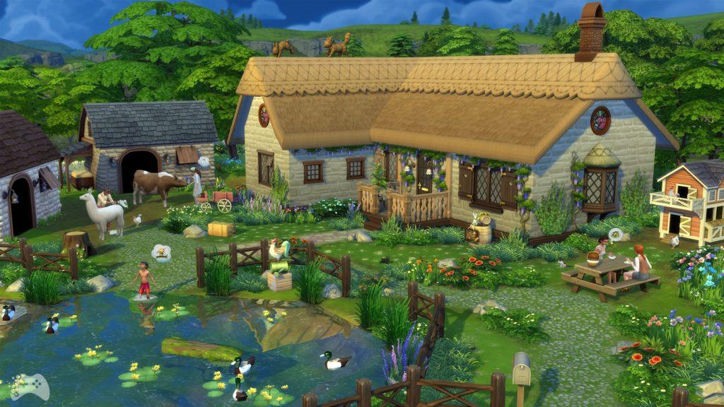 The Sims 4 Wiejska sielanka cena