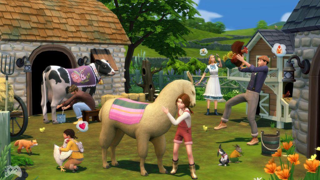 The Sims 4 Wiejska sielanka premiera