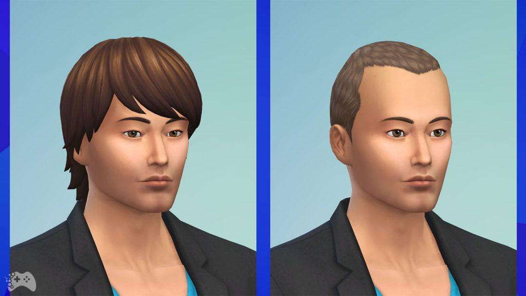 The Sims 4 Wystrój marzeń fryzury męskie