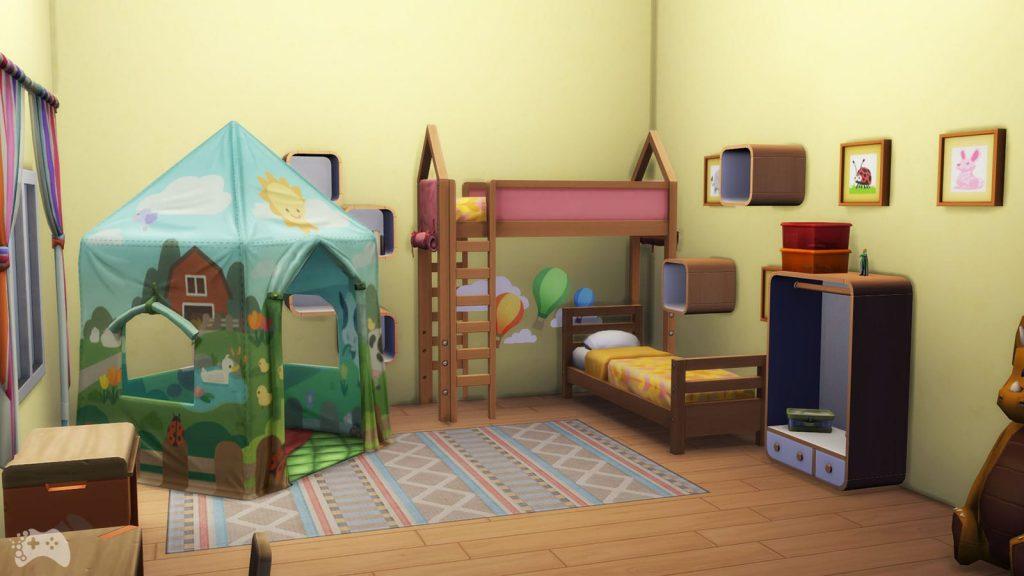 The Sims 4 Wystrój marzeń obiekty