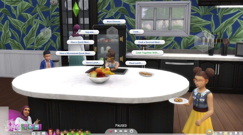 Wspólne gotowanie aktualizacja the sims 4 Origin