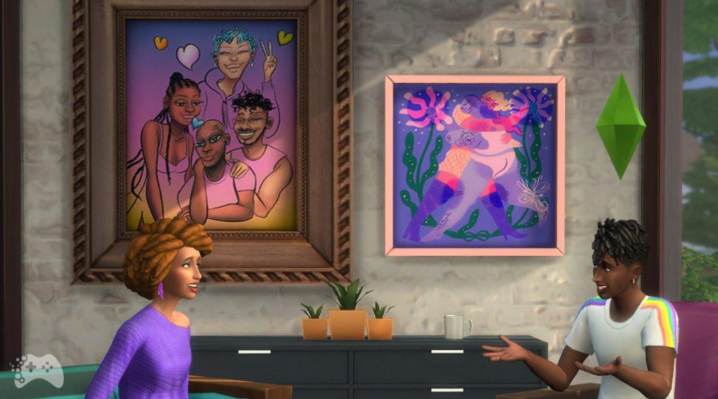 Aktualizacja lipiec 2021 The Sims 4 obrazy