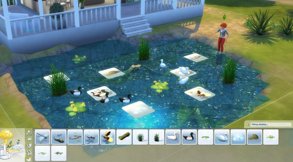 Efekt stawu The Sims 4 aktualizacja lipiec 2021