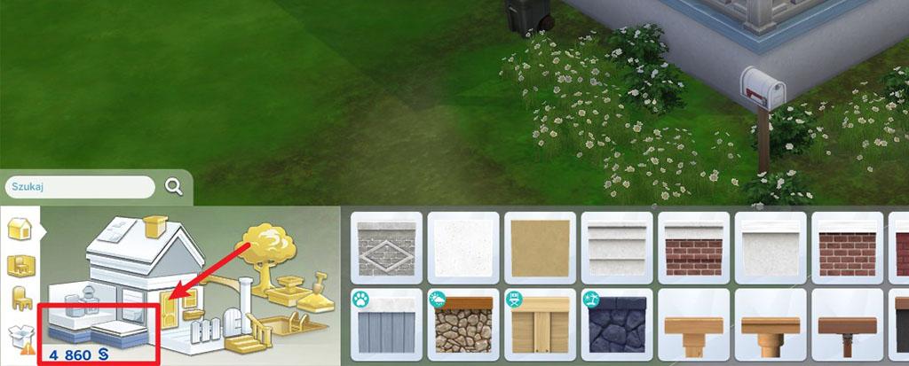 Jak dać fundamenty w The Sims 4