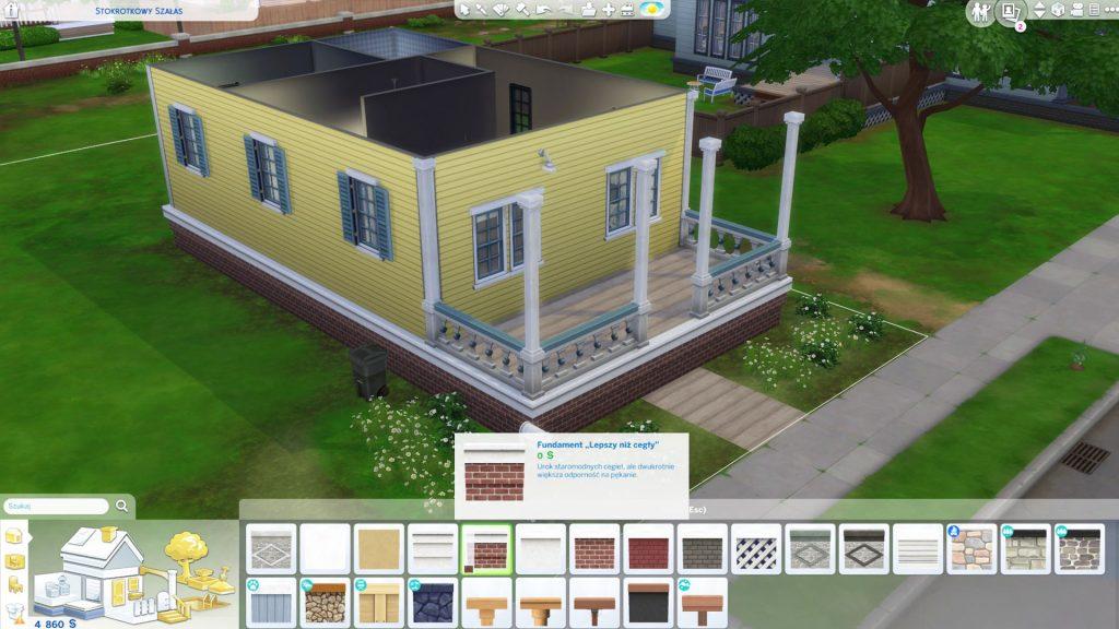 Jak podnieść fundamenty w The Sims 4