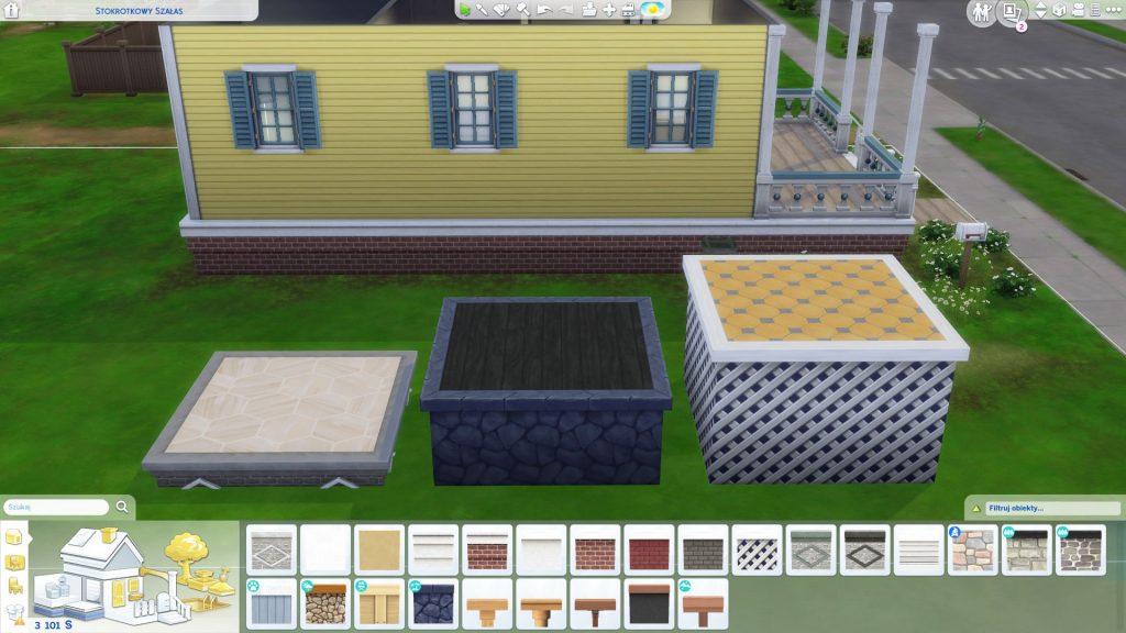 jak zrobić fundamenty w the sims 4 po aktualizacji