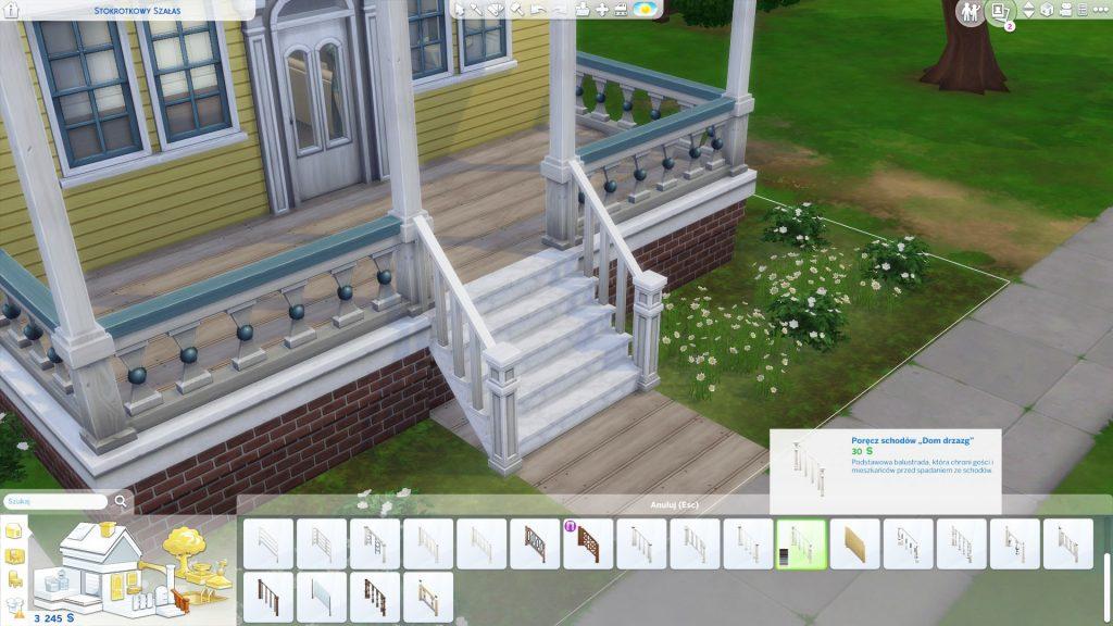 Jak zrobić wyższe fundamenty w The Sims 4
