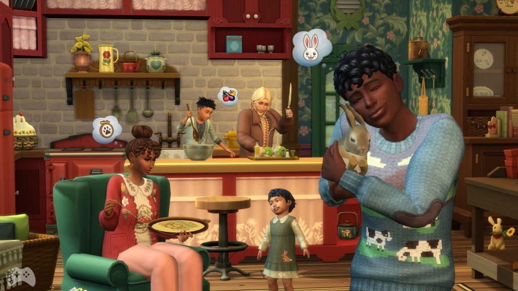 Kod na tęczową lame i krowe w the sims 4 wiejska sielanka