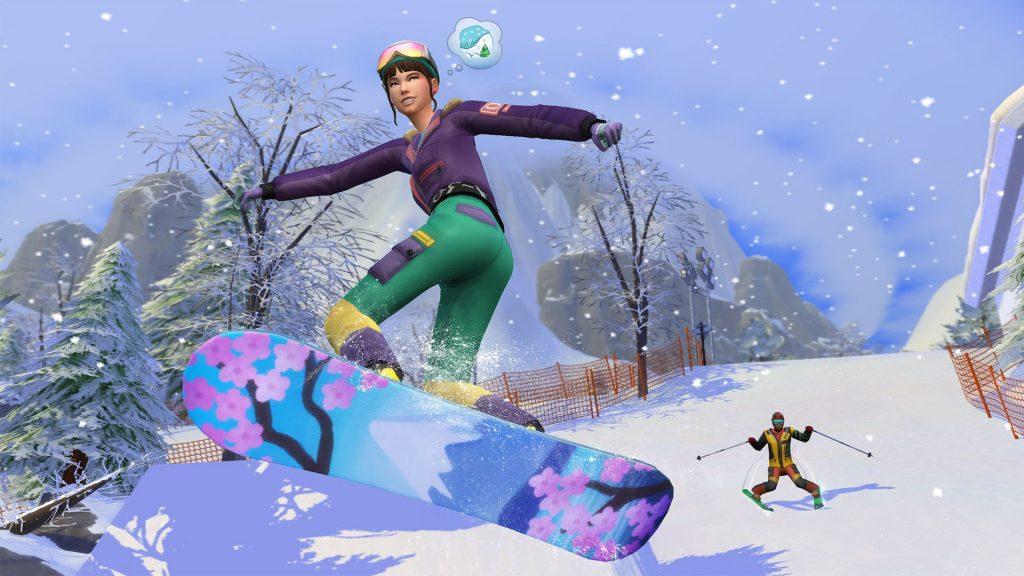 The Sims 4 Śnieżna Eskapada kody