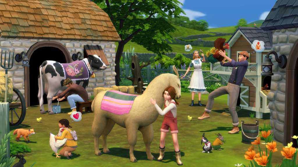 The Sims 4 Wiejska sielanka kody